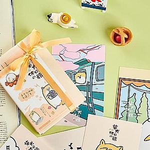 Набор почтовых открыток «Сиба-ину»