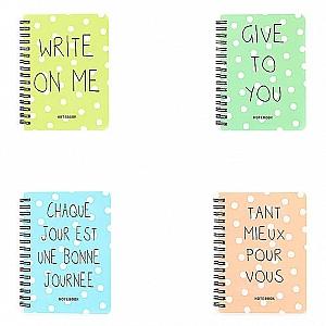 Блокнот «Write on me» средний