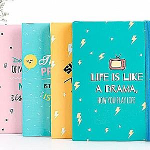 Блокнот «Life is like a drama» средний