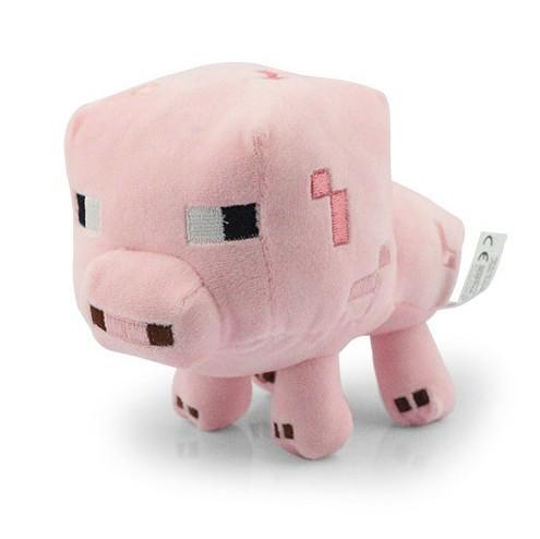 Мягкая игрушка «Поросенок из Minecraft»