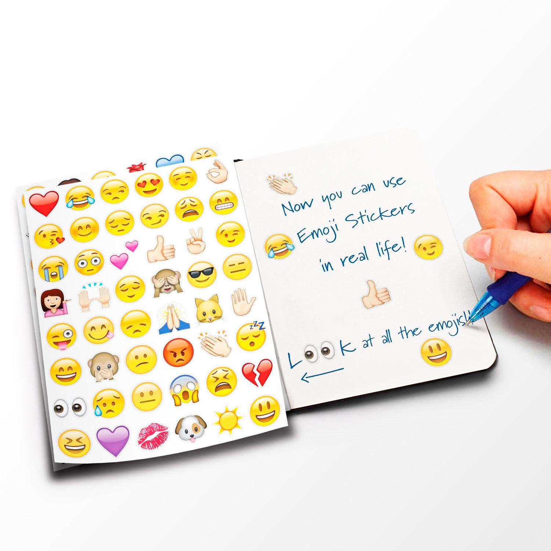Наклейки «Смайлики emoji»