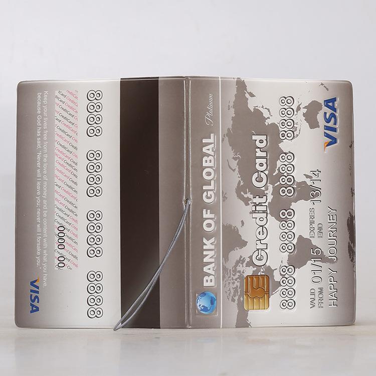 Обложка на паспорт «Банковская карта»