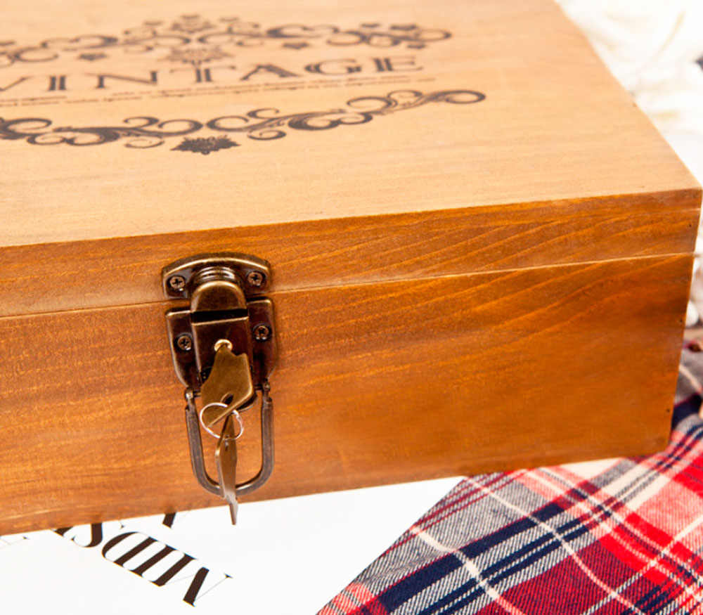 Деревянная шкатулка «Vintage»