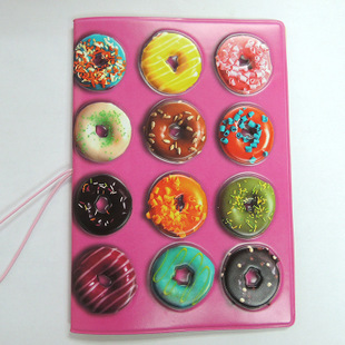 Обложка на паспорт «Пончики»