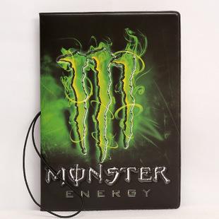 Обложка на паспорт «Monster energy»