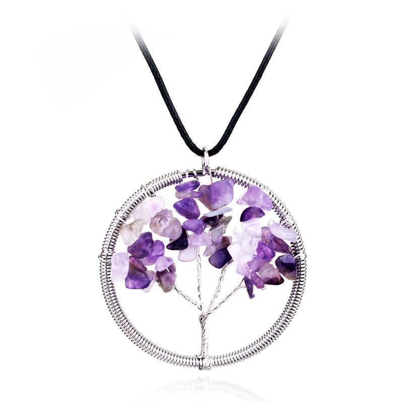 Подвеска «Purple tree»