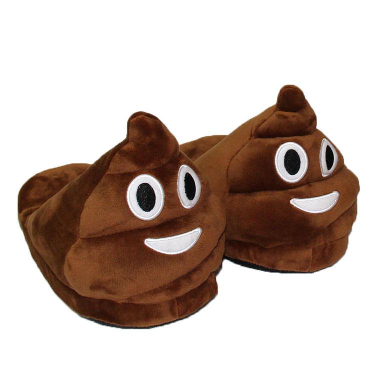 Тапочки «Emoji какашка»