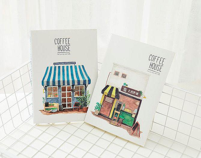 Тетрадь «Coffee house»