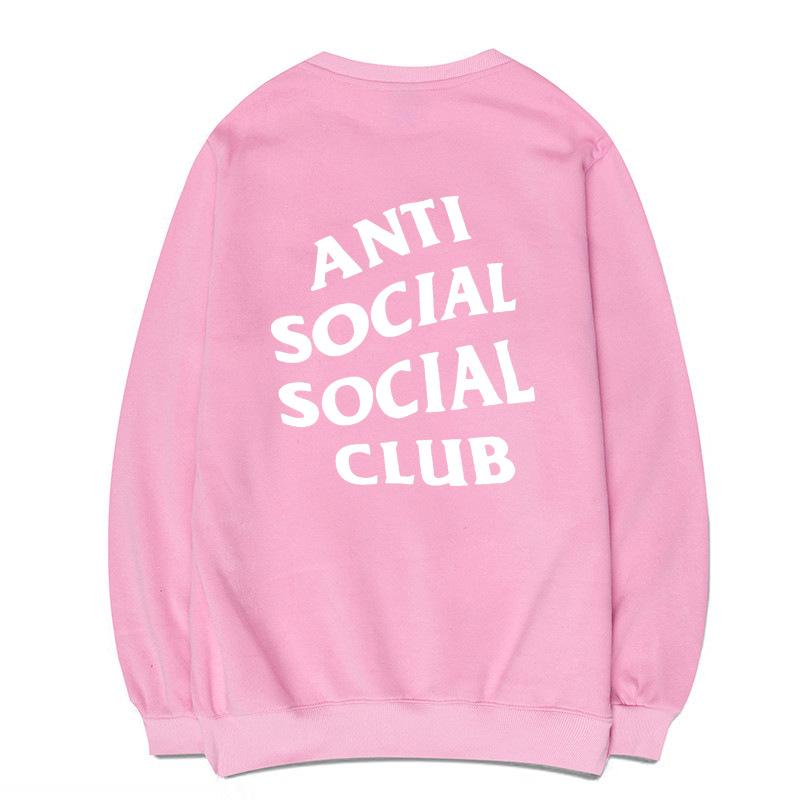 Свитшот «Antisocial club»