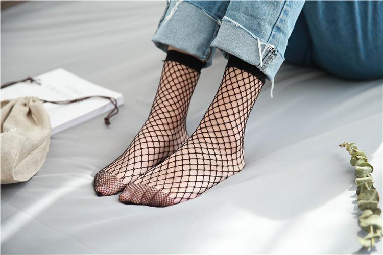 Носки в сеточку