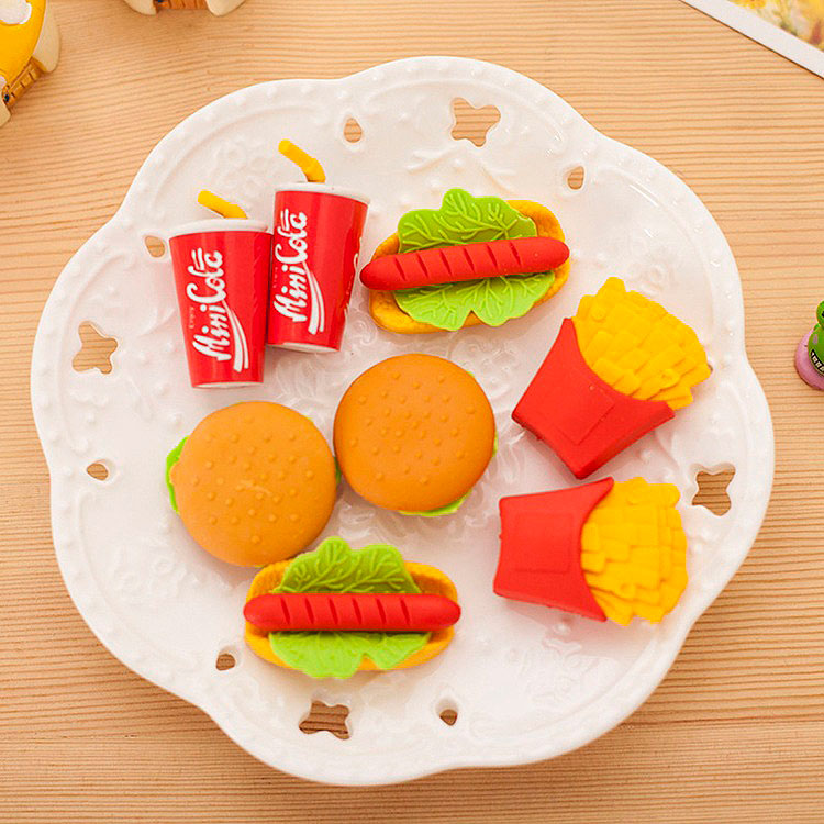 Стирательная резинка «Любимая еда»