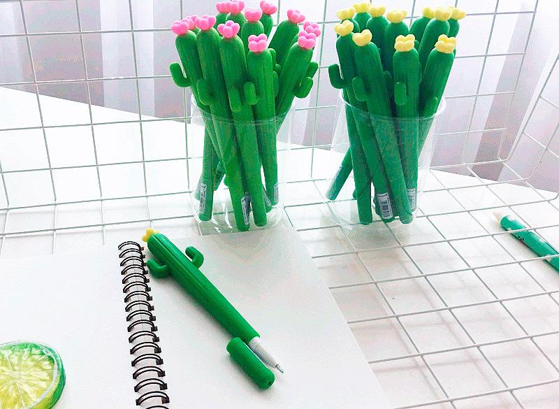 Ручка «Цветочный кактус»