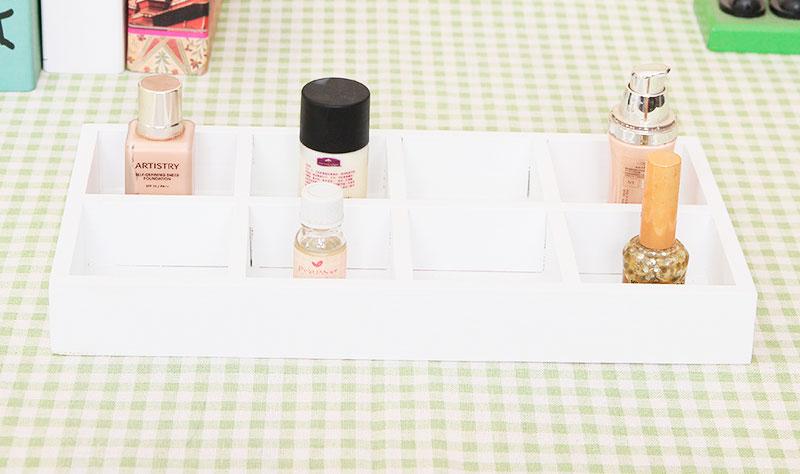 Ящик для выкладки мелочи на витрину (8 ячеек)