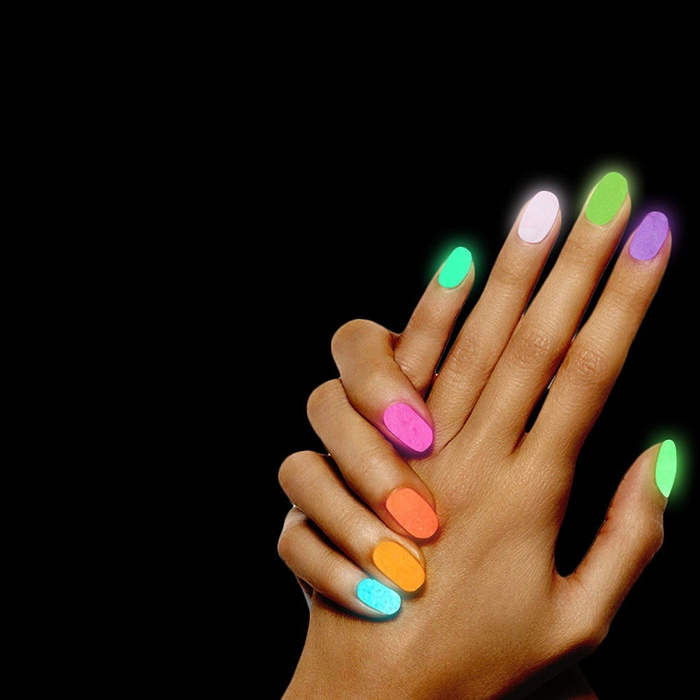 Флуоресцентный гель-лак для ногтей