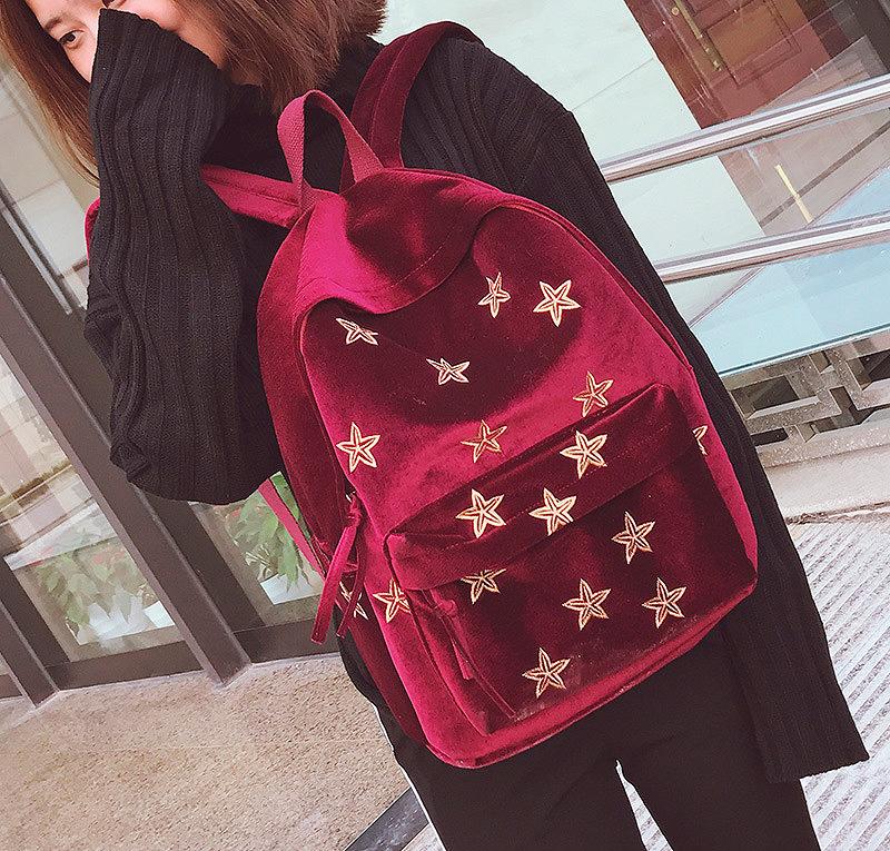 Рюкзак «Gold stars»