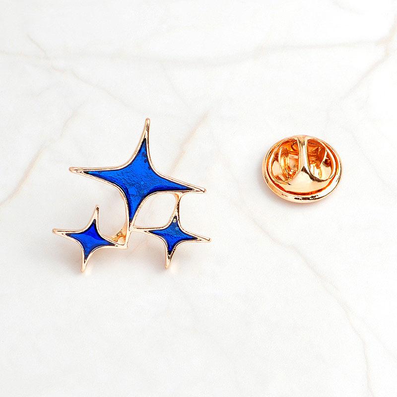 Брошь-значок «Звезды»