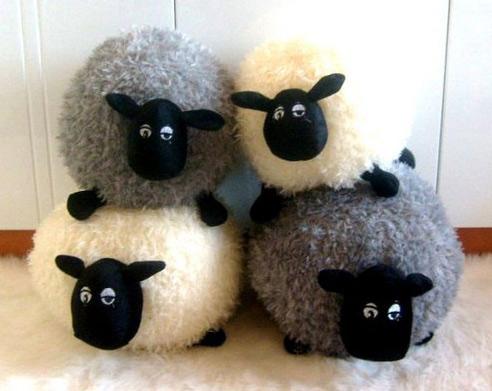Мягкая игрушка «Sheep ball» маленькая