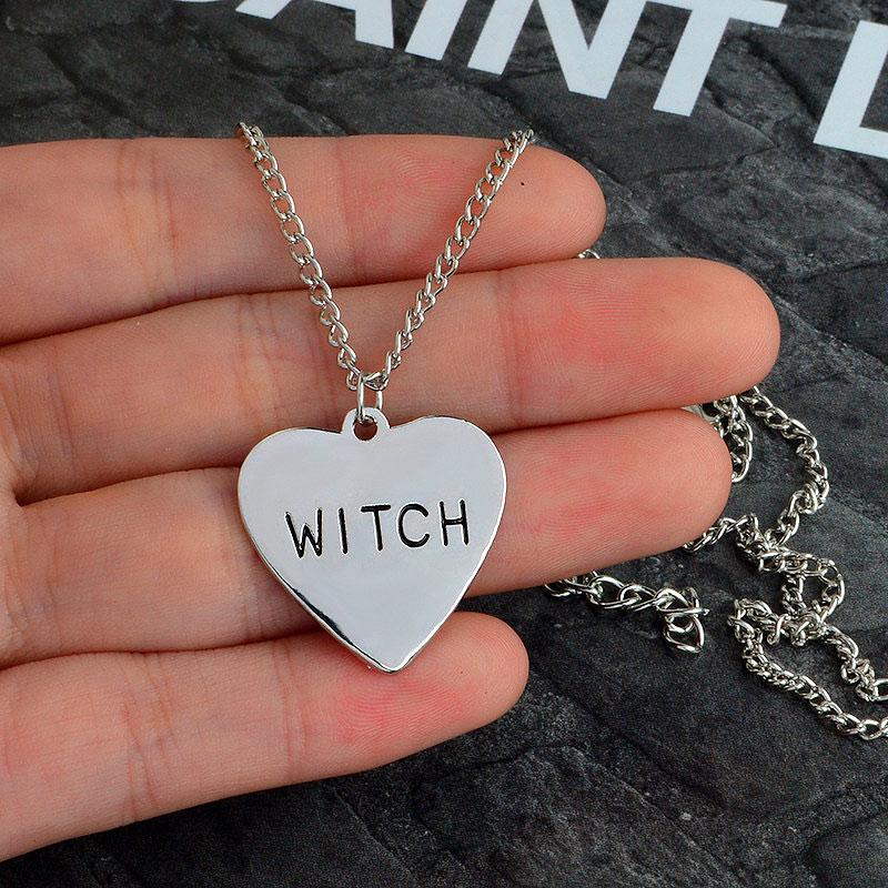 Кулон на цепочке «Witch»
