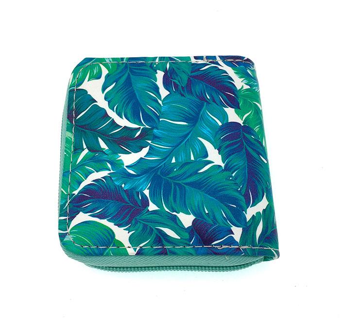 Мини-кошелек «Листья»