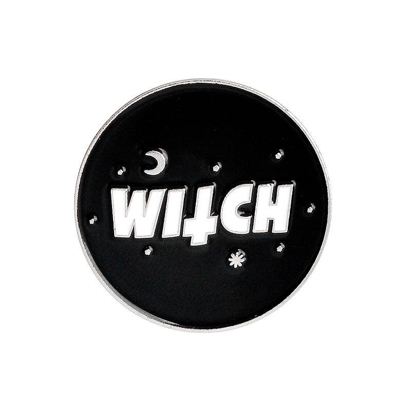 Брошь-значок «Witch»