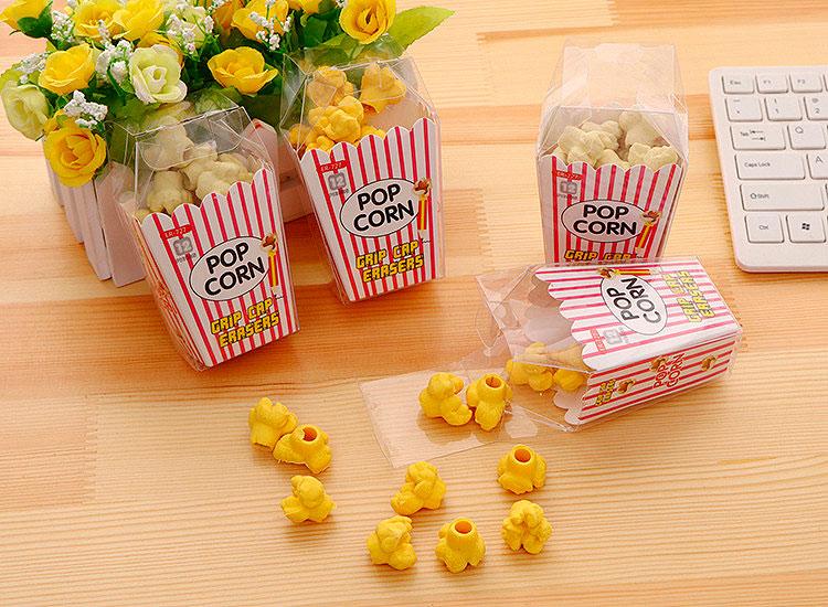 Набор стирательных резинок «Popcorn»