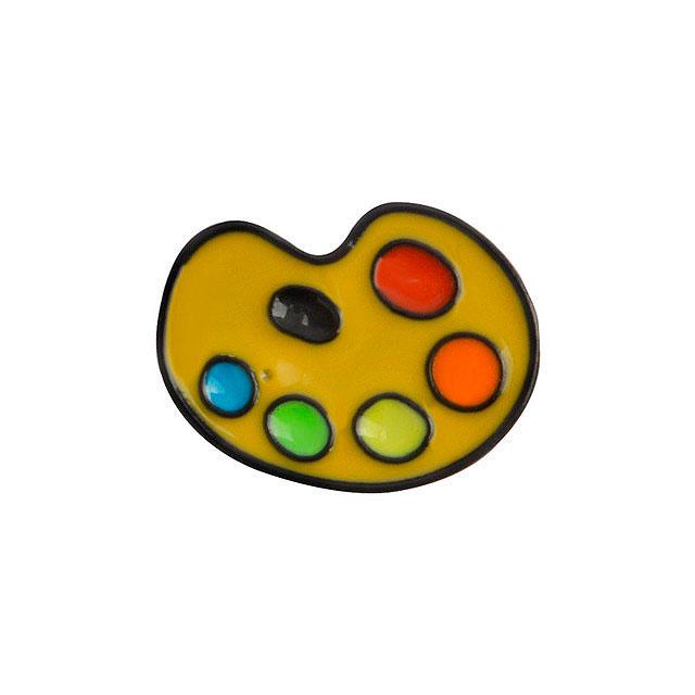 Брошь-значок «Палитра красок»