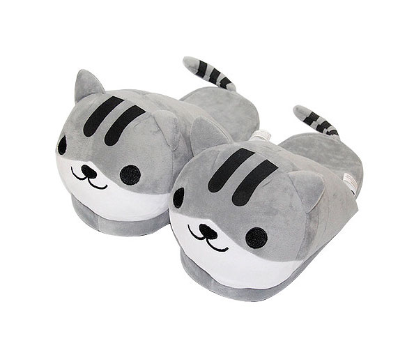 Тапочки «Серый кот»