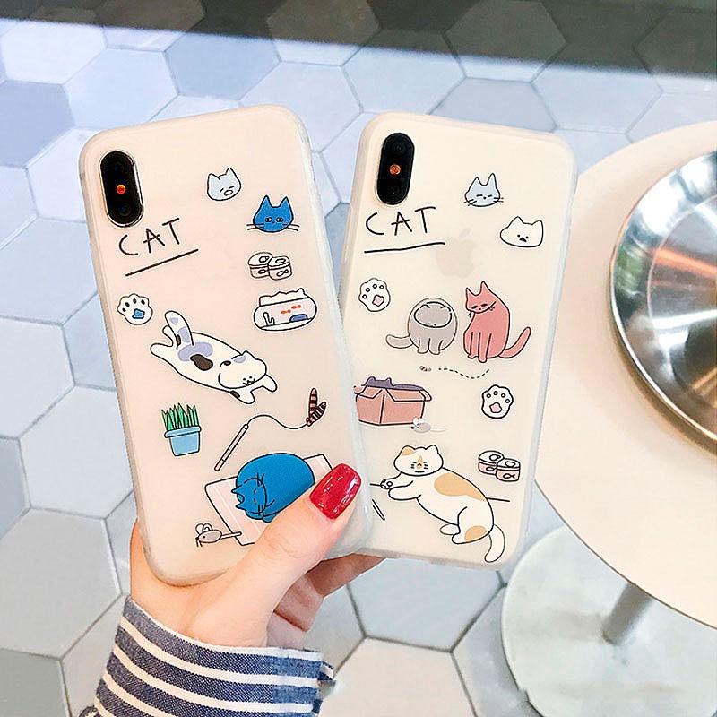 Чехол для iPhone «Cat's life»