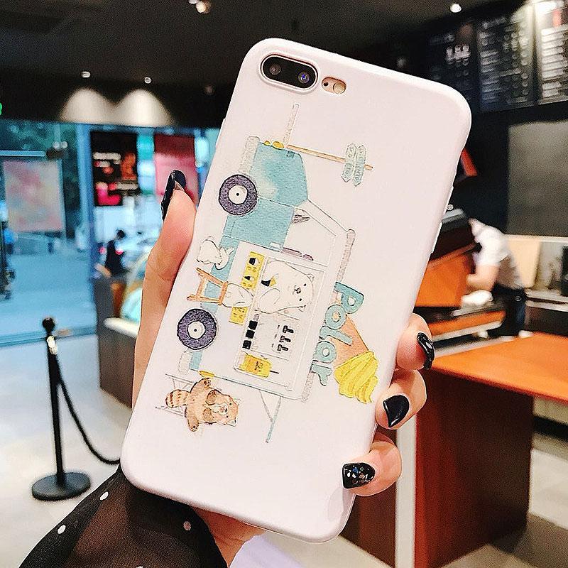 Чехол для iPhone «Автобус с мороженым»