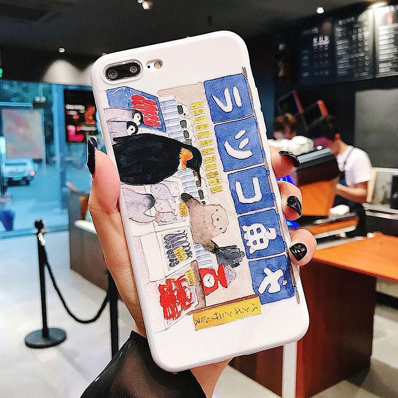 Чехол для iPhone «Рыбный магазин»