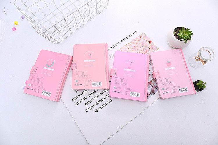 Блокнот «Pink fruits»