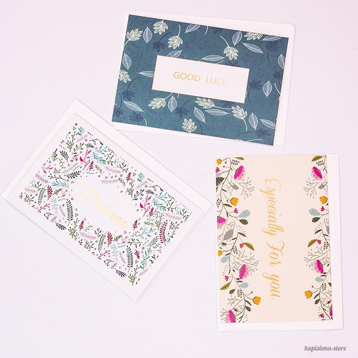 Поздравительная открытка «All flowers for you»