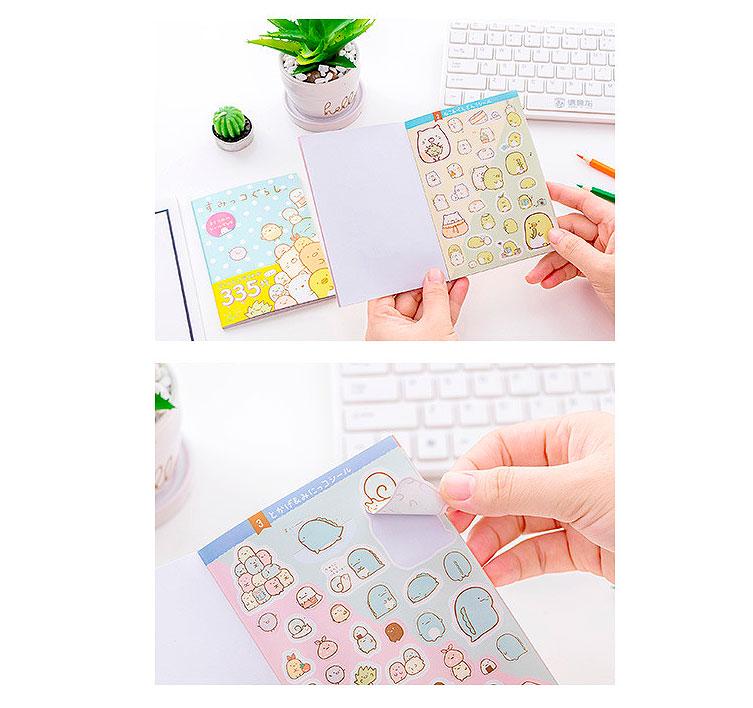 Книжка с наклейками «Sumikko Gurashi»