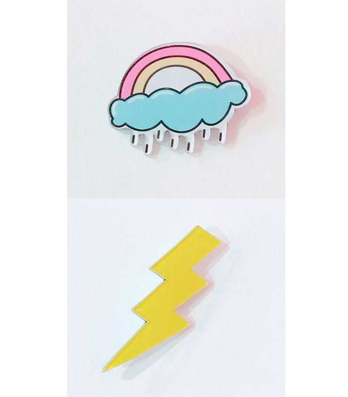 Значок «Дождливый день»