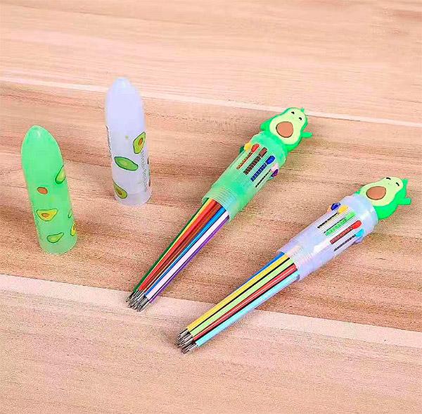 Ручка с 12-ю стержнями «Авокадо»
