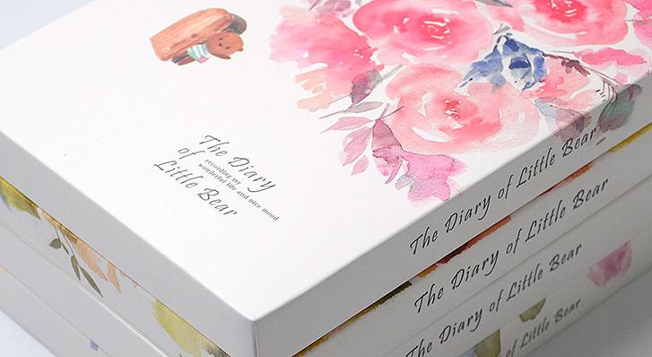 Блокнот «The diary of little bear»