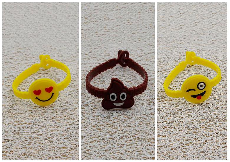 Силиконовый браслет «Emoji»