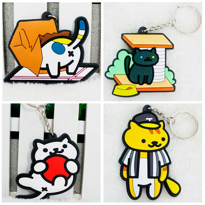 Брелок «Neko Atsume cats»
