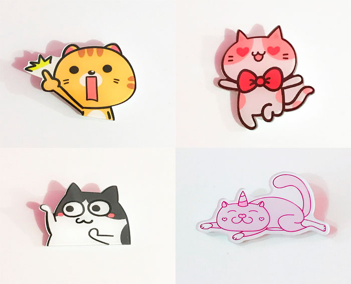 Значок «Коты»