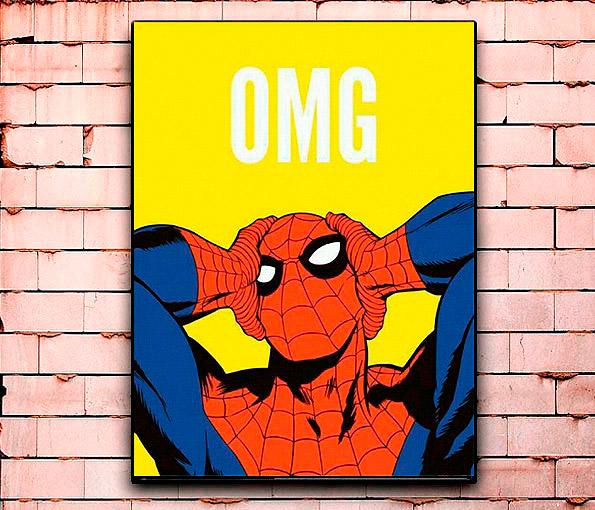 Постер «Человек-паук» большой