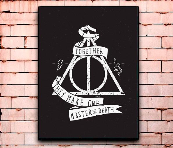 Постер «Harry Potter» средний