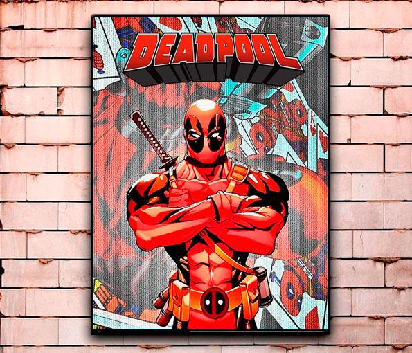 Постер «Deadpool» средний