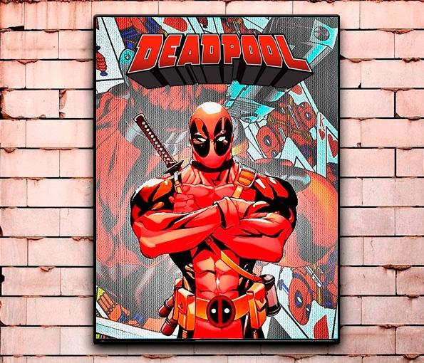 Постер «Deadpool» большой
