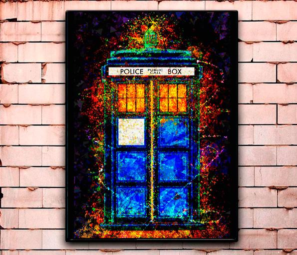 Постер «Доктор Кто» средний