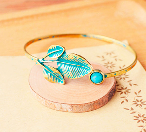 Браслет «Blue leaf»