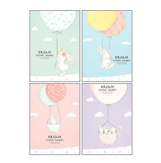 Тетрадь «Flying rabbit»