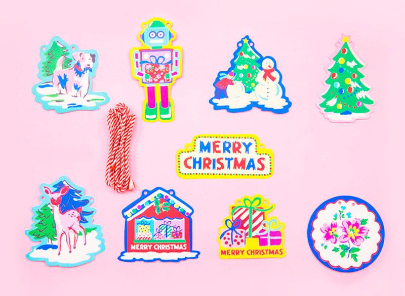 Бумажная гирлянда «Merry Christmas»