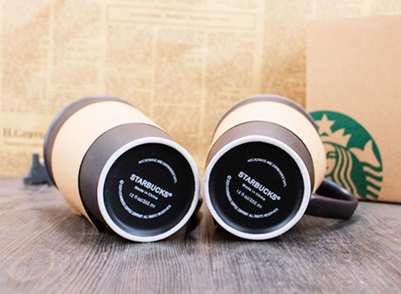 Керамическая кружка «Black Starbucks»