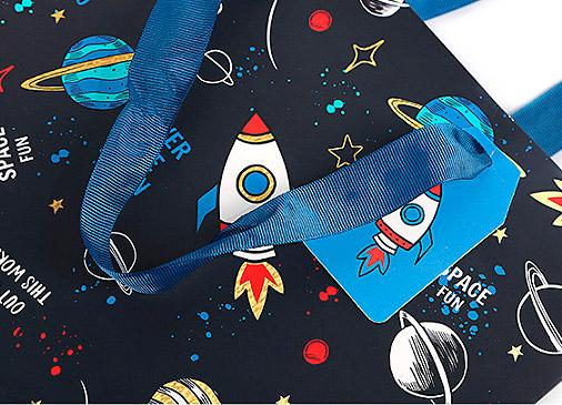 Подарочный пакет «Cosmos» большой