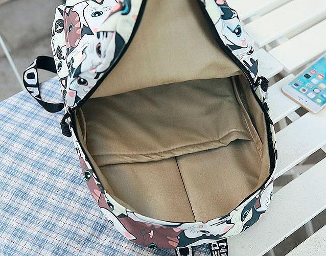 Рюкзак «Кит и медуза»